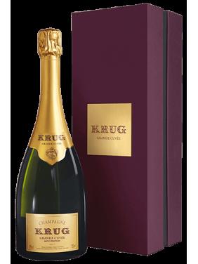 Champagne Krug Grande Cuvée 168ème Edition en coffret