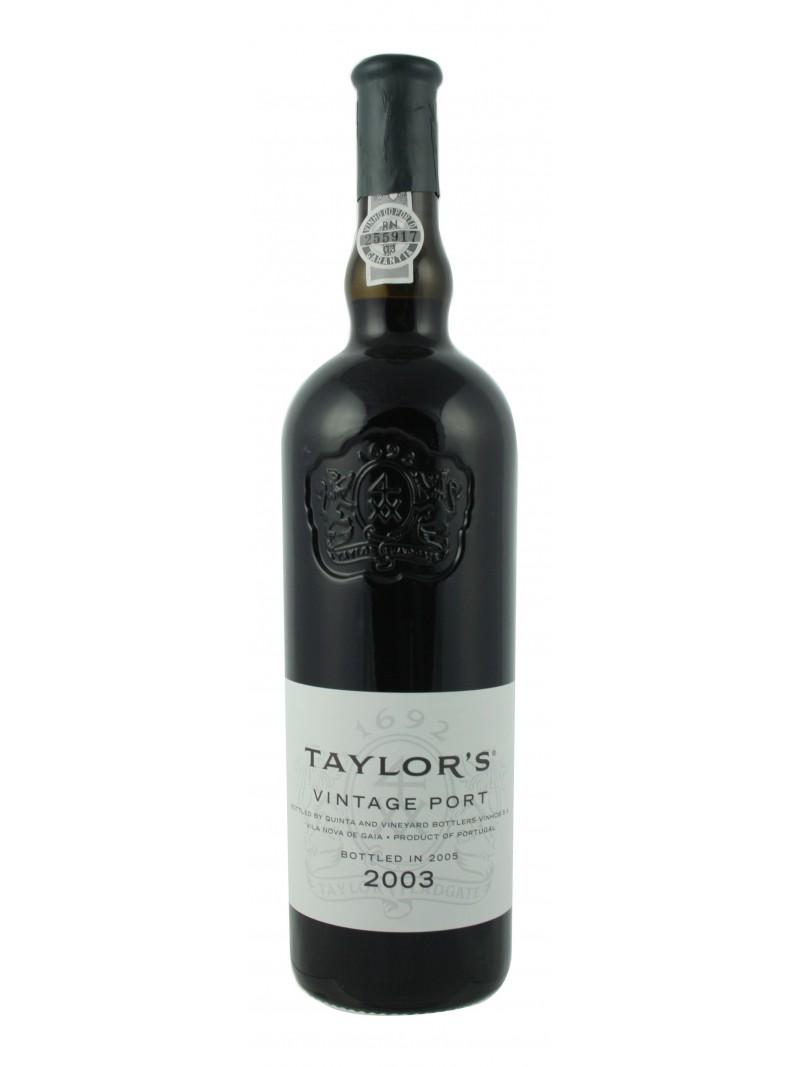 Porto Taylor's Vintage 2003
