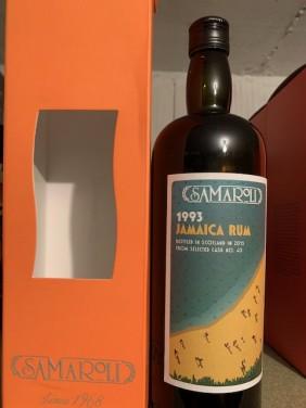Rhum/Rum Jamaica Samaroli 1993 22 Ans d'Age