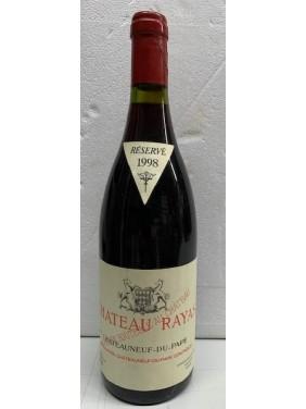 Château Rayas Châteauneuf du Pape AC 1998, Domaine Reynaud